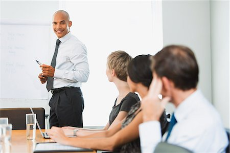 strategy - Business people sitting in meeting Stock Photo - Premium Royalty-Free, Code: 6113-07242706