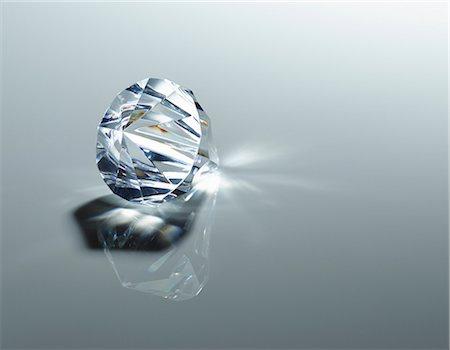 Close up of diamond Stock Photo - Premium Royalty-Free, Code: 6113-07243423