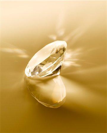 Close up of diamond Stock Photo - Premium Royalty-Free, Code: 6113-07243427