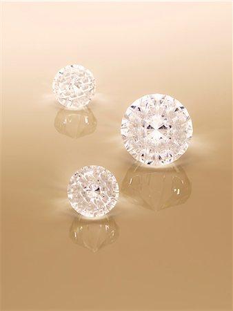 Close up of diamonds Stock Photo - Premium Royalty-Free, Code: 6113-07243424