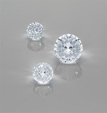 Close up of diamonds Stock Photo - Premium Royalty-Free, Code: 6113-07243426