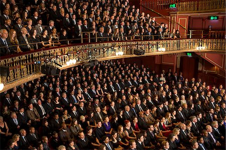 Audience watching performance in theater Stock Photo - Premium Royalty-Free, Code: 6113-07542947