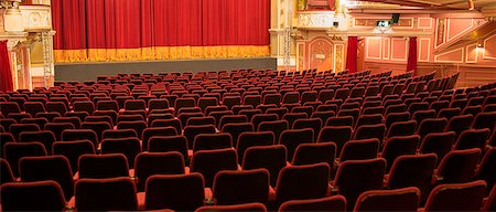 Empty chairs in theater Stock Photo - Premium Royalty-Free, Code: 6113-07542954
