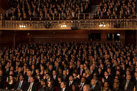 Audience watching performance in theater Stock Photo - Premium Royalty-Free, Code: 6113-07542935