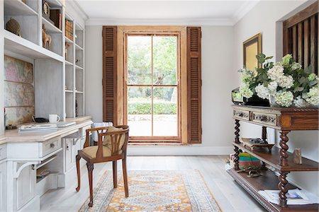design - Luxury home office Stock Photo - Premium Royalty-Free, Code: 6113-07565265