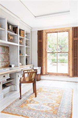 design - Luxury home office Stock Photo - Premium Royalty-Free, Code: 6113-07565269