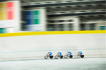 power - Track cycling team racing in velodrome Stock Photo - Premium Royalty-Free, Code: 6113-07588752