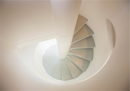 spiral - Spiral staircase Stock Photo - Premium Royalty-Free, Code: 6113-07589702