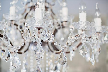 designs - Crystal chandelier Stock Photo - Premium Royalty-Free, Code: 6113-07589727