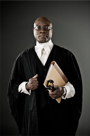 Portrait of confident judge Stock Photo - Premium Royalty-Free, Code: 6113-07648746