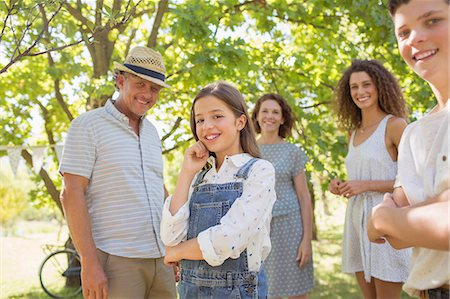 Family enjoying the outdoors together Stock Photo - Premium Royalty-Free, Code: 6113-07762540