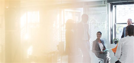 five people - Business people working in office Stock Photo - Premium Royalty-Free, Code: 6113-07808819