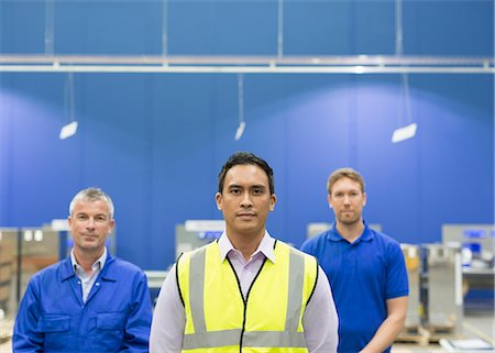 filipino (male) - Portrait confident manager and workers in steel factory Stock Photo - Premium Royalty-Free, Code: 6113-08655347