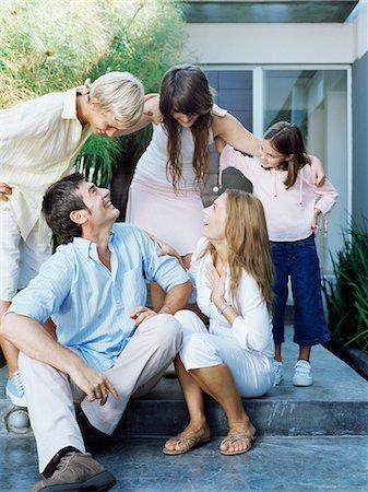 Happy family Stock Photo - Premium Royalty-Free, Code: 6114-06590222