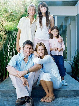 Happy family Stock Photo - Premium Royalty-Free, Code: 6114-06590227