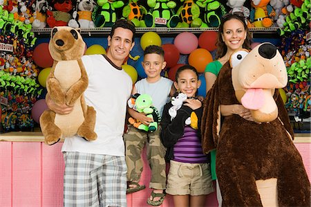 Family with toys Stock Photo - Premium Royalty-Free, Code: 6114-06592730
