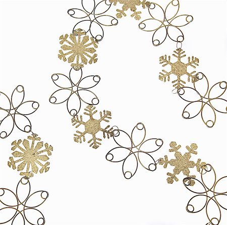 snowflakes  holiday - Snowflake decoration Stock Photo - Premium Royalty-Free, Code: 6114-06596716