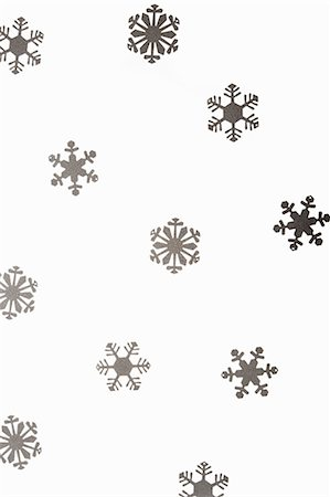 snowflakes  holiday - Snowflake decorations Stock Photo - Premium Royalty-Free, Code: 6114-06596735
