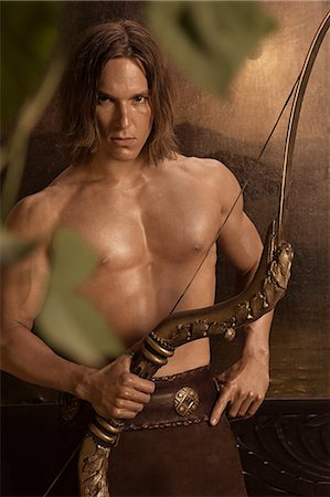 Siegfried with crossbow Stock Photo - Premium Royalty-Free, Code: 6114-06649179