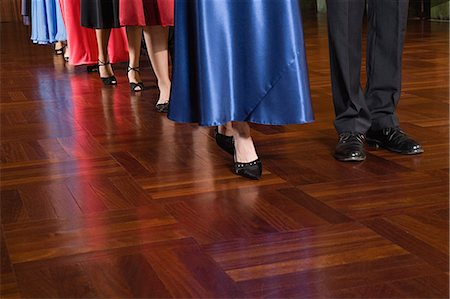 People in a row Stock Photo - Premium Royalty-Free, Code: 6114-06655962