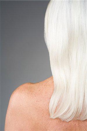 Woman with white hair Stock Photo - Premium Royalty-Free, Code: 6114-06660329
