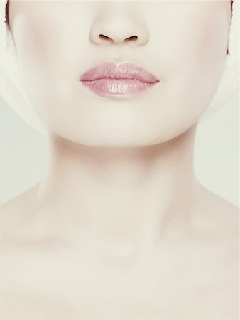 pretty - Cropped images of womans face, close up Stock Photo - Premium Royalty-Free, Code: 6114-06601856
