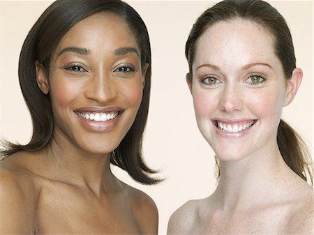 Portrait of two women Stock Photo - Premium Royalty-Free, Code: 6114-06604121