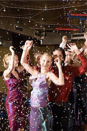Teenagers dancing Stock Photo - Premium Royalty-Free, Code: 6114-06604750