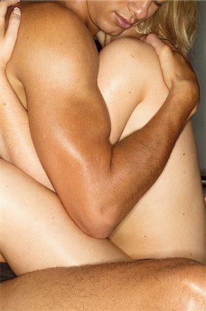 Intimate couple hugging Stock Photo - Premium Royalty-Free, Code: 6114-06607295