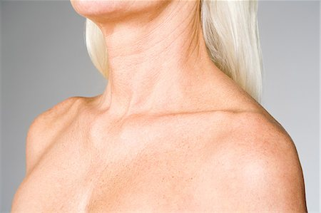 Female chest and shoulders Stock Photo - Premium Royalty-Free, Code: 6114-06609413