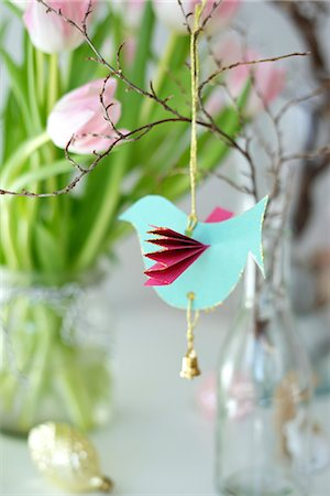 paper - Easter Decoration, Munich, Germany, Europe Stock Photo - Premium Royalty-Free, Code: 6115-06778489