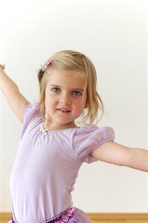 Little Ballerina Stock Photo - Premium Royalty-Free, Code: 6115-06732778