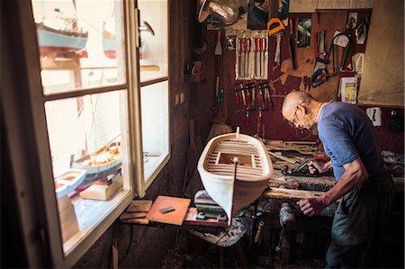 Boatbuilder, Island Hvar, Stari Grad, Dalmatia, Croatia Stock Photo - Premium Royalty-Free, Code: 6115-06967220