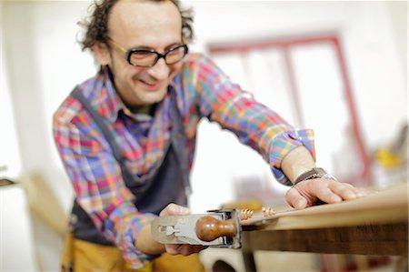 Carpenter in workshop, Osijek, Croatia, Europe Stock Photo - Premium Royalty-Free, Code: 6115-07109864