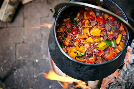 solid - Cooking Goulash Stew Stock Photo - Premium Royalty-Free, Code: 6115-07282758