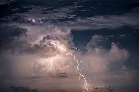 Thunderstorm scenery, Dalmatia, Croatia, Europe Stock Photo - Premium Royalty-Free, Code: 6115-08105237