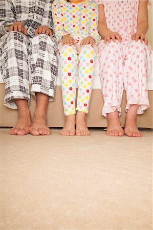 preteen feet - Family Lower Body Stock Photo - Premium Royalty-Free, Code: 6116-06938714