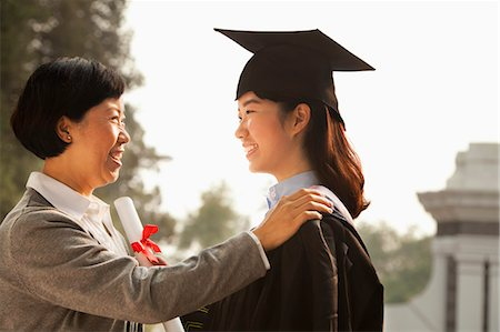 Proud Mother of a Graduate Stock Photo - Premium Royalty-Free, Code: 6116-06939208
