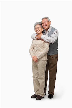Senior couple embracing Stock Photo - Premium Royalty-Free, Code: 6116-07086265