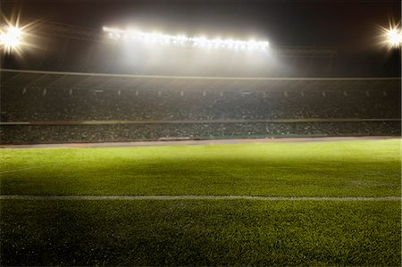 scoring - View of soccer field Stock Photo - Premium Royalty-Free, Code: 6116-08540017