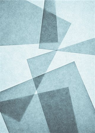 rectangle - Overlapping pieces of recycled paper Stock Photo - Premium Royalty-Free, Code: 6118-07440701