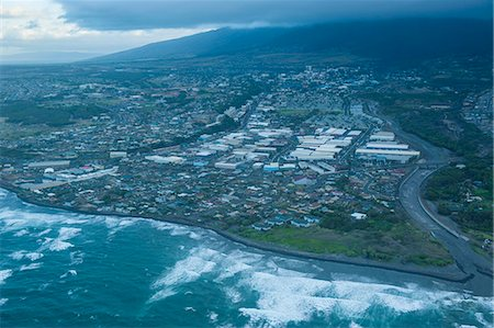 Aerial of Maui, Hawaii, United States of America, Pacific Stock Photo - Premium Royalty-Free, Code: 6119-07443888