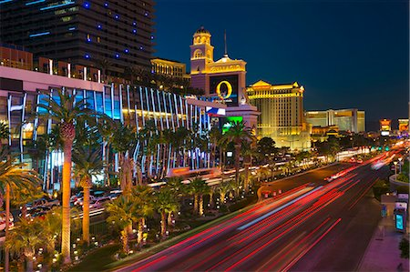 The Strip, Las Vegas, Nevada, United States of America, North America Stock Photo - Premium Royalty-Free, Code: 6119-07453057
