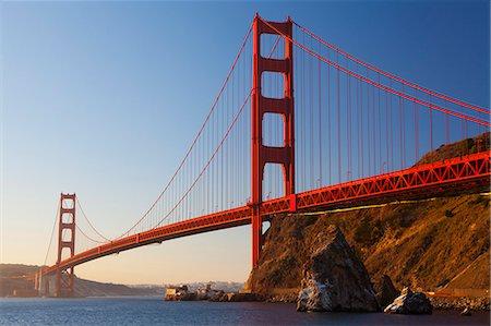 Golden Gate Bridge, San Francisco, California, United States of America, North America Stock Photo - Premium Royalty-Free, Code: 6119-07651831
