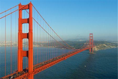 Golden Gate Bridge, San Francisco, California, United States of America, North America Stock Photo - Premium Royalty-Free, Code: 6119-07651948