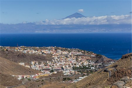 A view of the island of La Gomera, the second smallest island in the Canary Islands, Spain, Atlantic, Europe Stock Photo - Premium Royalty-Free, Code: 6119-07943769