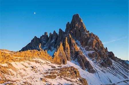 Monte Paterno, Auronzo, Belluno, Veneto, Dolomites, Italy, Europe Stock Photo - Premium Royalty-Free, Code: 6119-07969031
