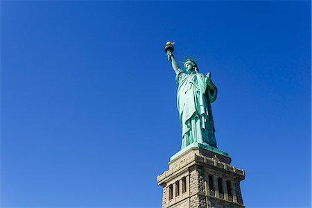 Statue of Liberty, New York City, New York, United States of America, North America Stock Photo - Premium Royalty-Free, Code: 6119-08062334