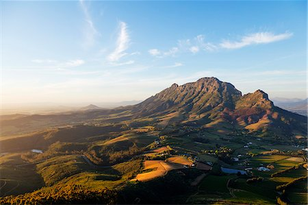 Stellenbosch, Simonberg mountains, Western Cape, South Africa, Africa Stock Photo - Premium Royalty-Free, Code: 6119-08797482