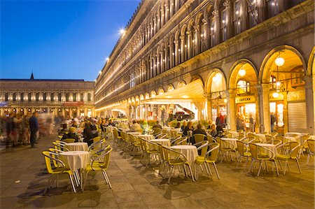 Piazza San Marco, Venice, UNESCO World Heritage Site, Veneto, Italy, Europe Stock Photo - Premium Royalty-Free, Code: 6119-08803391